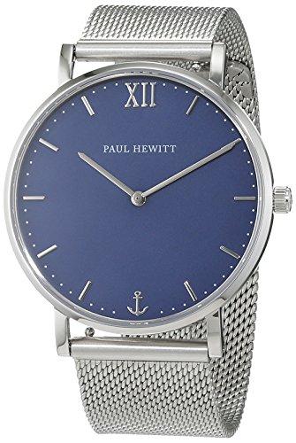 Paul Hewitt Unisex Armbanduhr Analog Quarz Edelstahl PH SA S St B 4S