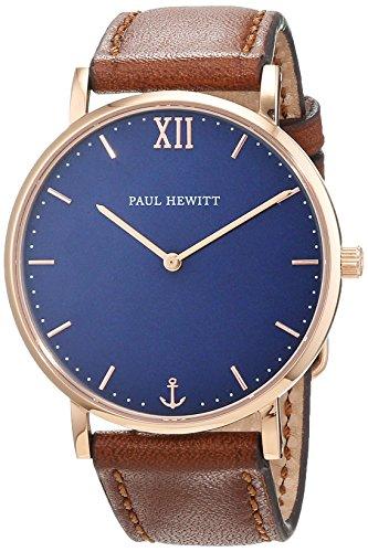 Paul Hewitt Unisex Armbanduhr Analog Quarz Leder PH SA R St B 1S