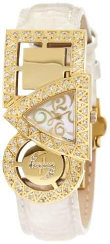 Swisstek Damen SK21910L Equilibre vergoldet Diamant Quarzuhr