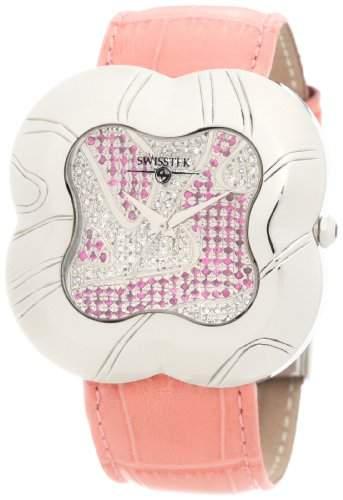 Swisstek Damen SK27808L Allegro Limited Edition Diamant Sapphire Uhr