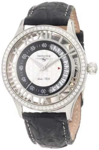 Swisstek Herren SK52708G Auto-Tek Schweizer-Automatic Black Watch