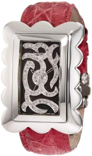 Swisstek Damen SK57726L Melange Limited Edition Pink Diamond Uhr