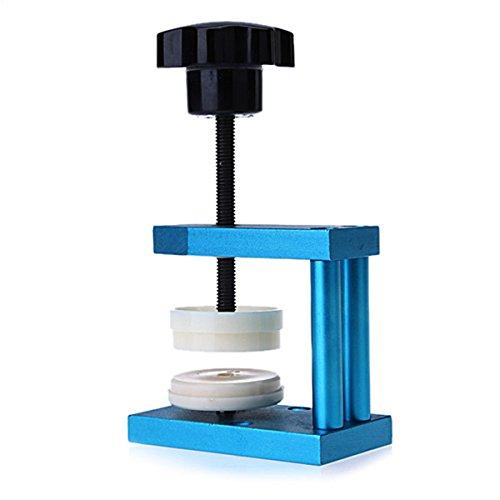 Presser Schliesswerkzeug TOOGOO R Uhr Kristall vorne Ruecken Gehaeuse Abdeckung Schneckenpresse Presser Schliesswerkzeug 12 Werkzeugen
