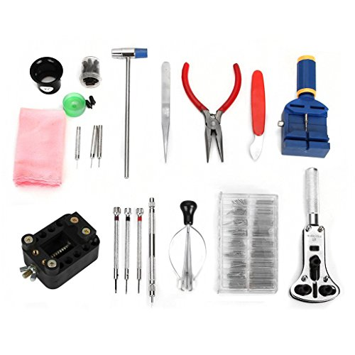 Uhr Reparatursatz Werkzeug TOOGOO R Reparatursatz Uhr 288 Teile Uhr Werkzeug