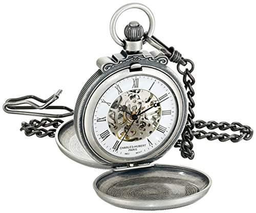 Charles-Hubert-Paris Damen-Armbanduhr 47mm Gehäuse Messing Handaufzug Zifferblatt Weiß 3868-S