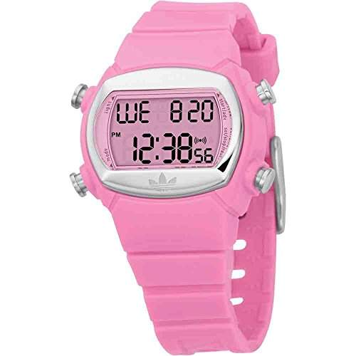 Adidas Originals Watches Womens Pink Candy Digital Chronograph Watch