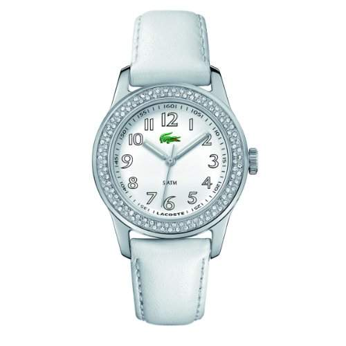 Lacoste Damen-Armbanduhr ADVANTAGE Analog Leder 2000464