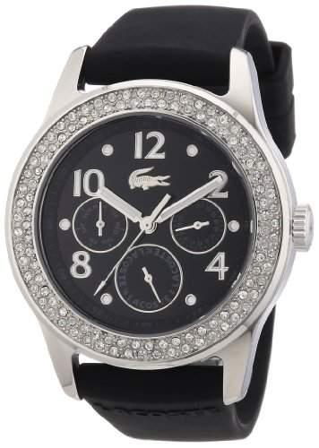 Lacoste Damen-Armbanduhr ADVANTAGE Analog Silikon 2000690