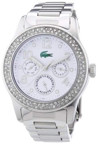 Lacoste Damen-Armbanduhr ADVANTAGE Analog Edelstahl 2000692