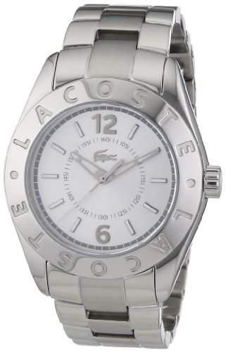 Lacoste Damen-Armbanduhr Analog Quarz Edelstahl 2000712