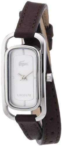 Lacoste Damen-Armbanduhr Analog Quarz Leder 2000727