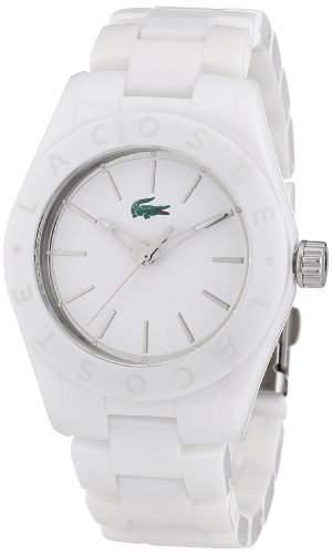 Lacoste Damen-Armbanduhr Analog Quarz Keramik 2000729