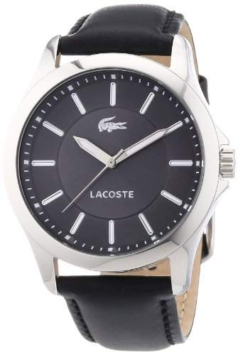 Lacoste Damen-Armbanduhr Analog Quarz Leder 2000735