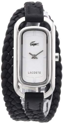 Lacoste Damen-Armbanduhr Analog Quarz Leder 2000738
