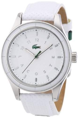 Lacoste Damen-Armbanduhr Analog Quarz Leder 2000740