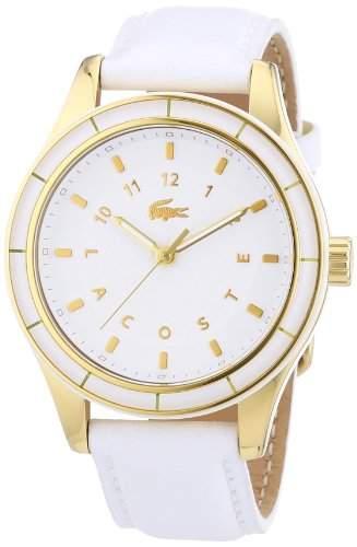 Lacoste Damen-Armbanduhr Analog Quarz Leder 2000742