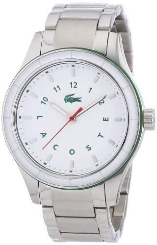 Lacoste Damen-Armbanduhr Analog Quarz Edelstahl 2000743