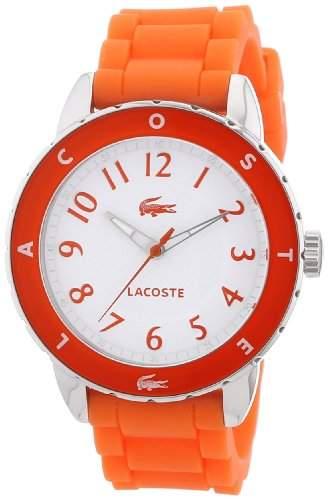 Lacoste Damen-Armbanduhr Analog Quarz Silikon 2000747