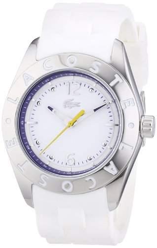 Lacoste Damen-Armbanduhr Analog Quarz Silikon 2000751