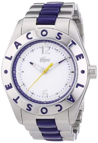 Lacoste Damen-Armbanduhr Analog Quarz verschiedene Materialien 2000752