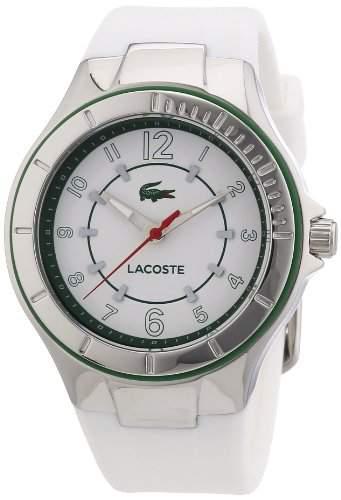 Lacoste Damen-Armbanduhr Analog Quarz Silikon 2000755