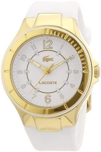 Lacoste Damen-Armbanduhr Analog Quarz Silikon 2000756