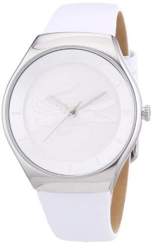 Lacoste Damen-Armbanduhr Analog Quarz Leder 2000762