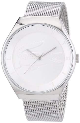 Lacoste Damen-Armbanduhr Analog Quarz Edelstahl 2000764