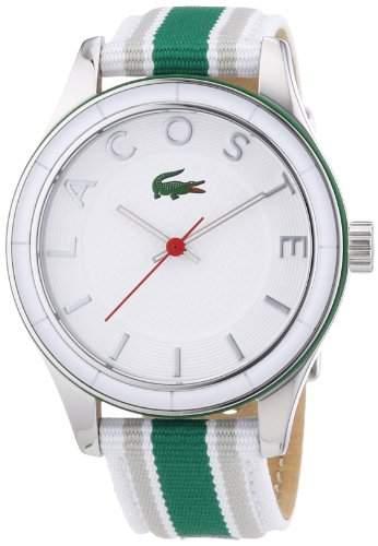 Lacoste Damen-Armbanduhr Analog Quarz Textil 2000769