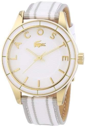 Lacoste Damen-Armbanduhr Analog Quarz Textil 2000771