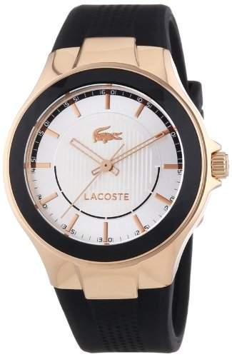 Lacoste Damen-Armbanduhr Analog Quarz Silikon 2000773