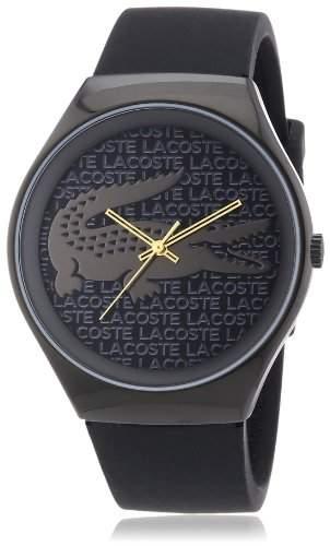 Lacoste Damen-Armbanduhr Analog Quarz Silikon 2000789