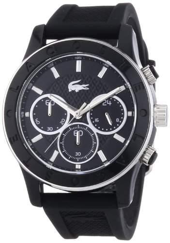Lacoste Damen-Armbanduhr Analog Quarz Silikon 2000801