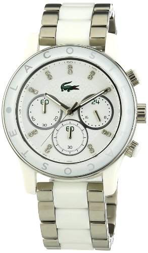 Lacoste Damen-Armbanduhr Analog Quarz Edelstahl 2000803