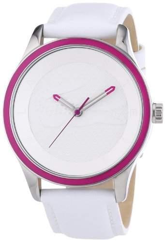 Lacoste Damen-Armbanduhr Analog Quarz Leder 2000818