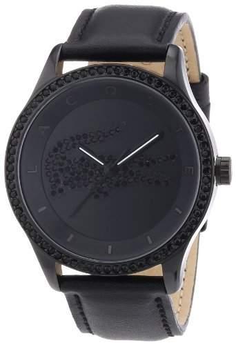 Lacoste Damen-Armbanduhr Analog Quarz Leder 2000823