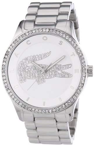 Lacoste Damen-Armbanduhr Analog Quarz Edelstahl 2000826