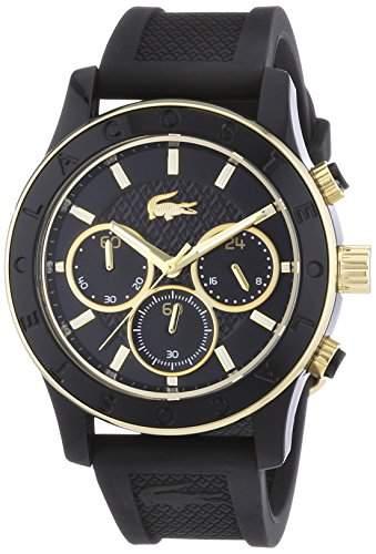 Lacoste Damen-Armbanduhr Analog Quarz Silikon 2000862