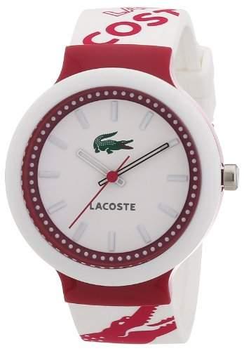 Lacoste Unisex-Armbanduhr GOA Analog Silikon 2010523