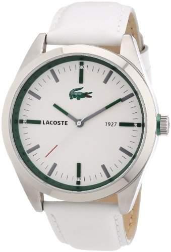 Lacoste Herren-Armbanduhr XL MONTREAL Analog Leder 2010595
