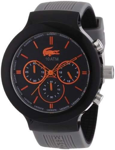 Lacoste Herren-Armbanduhr Analog Quarz Silikon 2010655