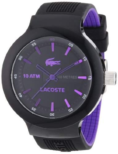 Lacoste Herren-Armbanduhr XL Analog Quarz Silikon 2010659