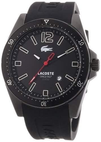 Lacoste Herren-Armbanduhr Analog Quarz Silikon 2010662