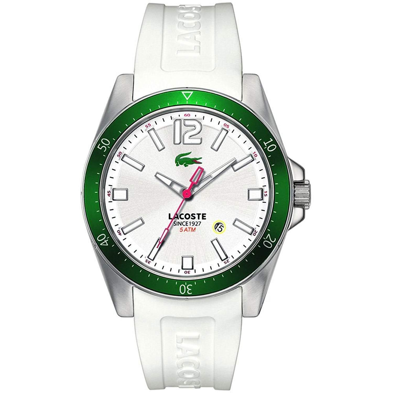 Lacoste Herren-Armbanduhr XL Analog Quarz Silikon 2010664