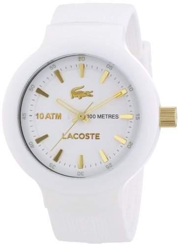 Lacoste Herren-Armbanduhr XL Analog Quarz Silikon 2010684