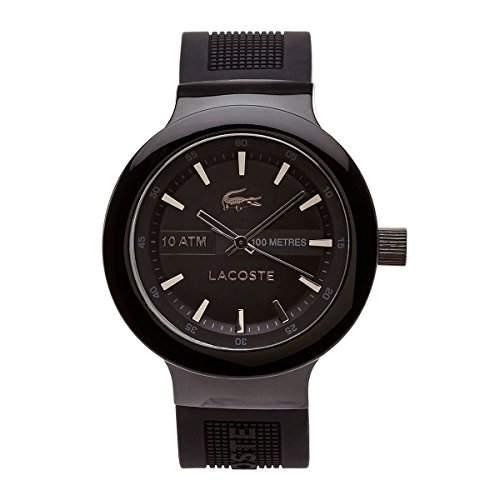 Lacoste Herren-Armbanduhr Analog Quarz Silikon 2010685
