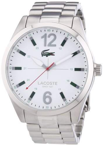 Lacoste Herren-Armbanduhr Analog Quarz Edelstahl 2010697