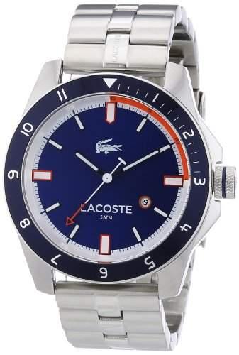 Lacoste Herren-Armbanduhr XL Analog Quarz Edelstahl 2010701