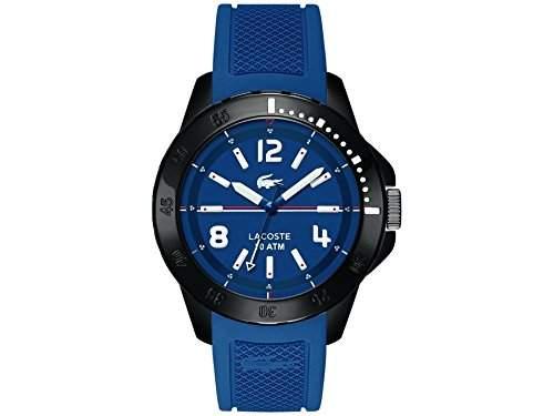 Lacoste Herren-Armbanduhr Analog Quarz Silikon 2010716