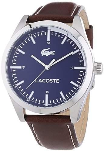 Lacoste Herren-Armbanduhr XL MONTREAL Analog Quarz Leder 2010742